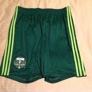 Portland Timbers Mens Adidas Shorts Size Large EUC